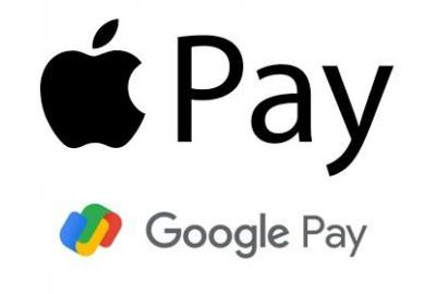 We now accept Google Pay and Apple pay for payment methods.