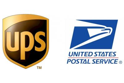 UPS and The USPS delivery dates and times in transit are not guarantteed.