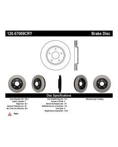 [120.67069]Centric Premium Brake Rotor