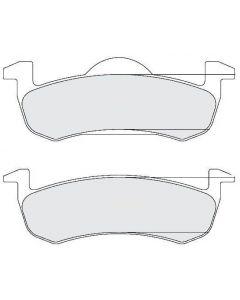 [1279.20]Performance Friction Carbon Metallic brake pads.FMSI(D1279)