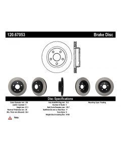 [120.67053]Centric Premium Brake Rotor