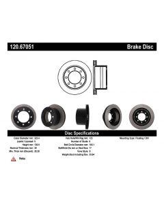 [120.67051]Centric Premium Brake Rotor