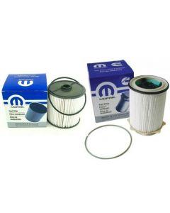 [68157291AA--68436631AA]Mopar/Chrysler/Dodge 2019-UP Ram 6.7 liter diesel fuel filter.