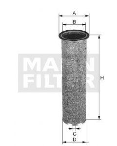[CF-75/1]Mann-Filter European Safety Element(Bobcat Heavy truck and Bus/Off-Highway 6598362)