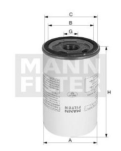 [LB-719/20]Mann-Filter European Air/Oil Separator Box(SI - Industrial Heavy truck and Bus/Off-Highway )