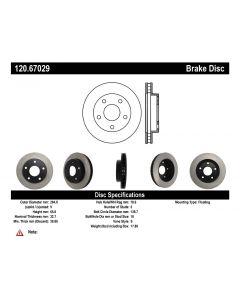 [120.67029]Centric Premium Brake Rotor
