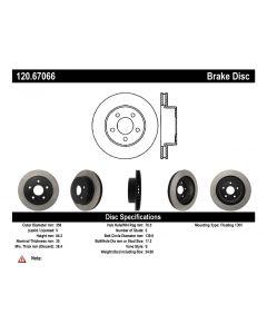 [120.67066]Centric Premium Brake Rotor