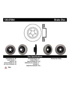 [120.67064]Centric Premium Brake Rotor