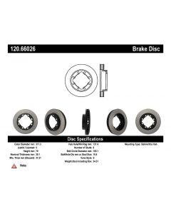 [120.66026]Centric Premium Brake Rotor