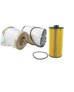 [fd4617/FL2016]Ford 6.4 liter turbo diesel fuel/water and oil filter