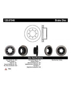 [120.67046]Centric Premium Brake Rotor