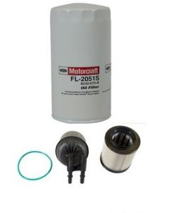 [fl-2051S--FD4615]Motorcraft Ford 6.7 liter turbo diesel oil and Fuel filter kit.