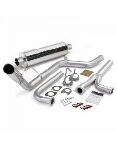 [48125]Banks Power Monster Exhaust System, S/S-Chrome Tip - 2004-14 Nissan 4.0L Frontier, All Cab/Beds