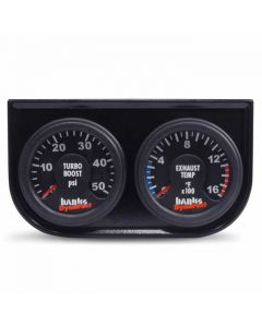 [64504]Banks Power Gauge Assembly, Dynafact Elect - 1998-02 Dodge 5.9L(W-New AutoMind)