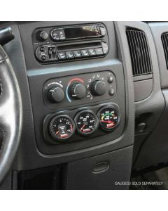 [63319]Banks Power Dash Pod, 3 Gauge - 2003-05 Dodge Ram