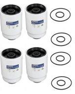 [TP-3018X4]2001-2016Chevy/Gmc 6.6 liter Duramx diesel Ac Delco fuel filter(12664429)-4pack