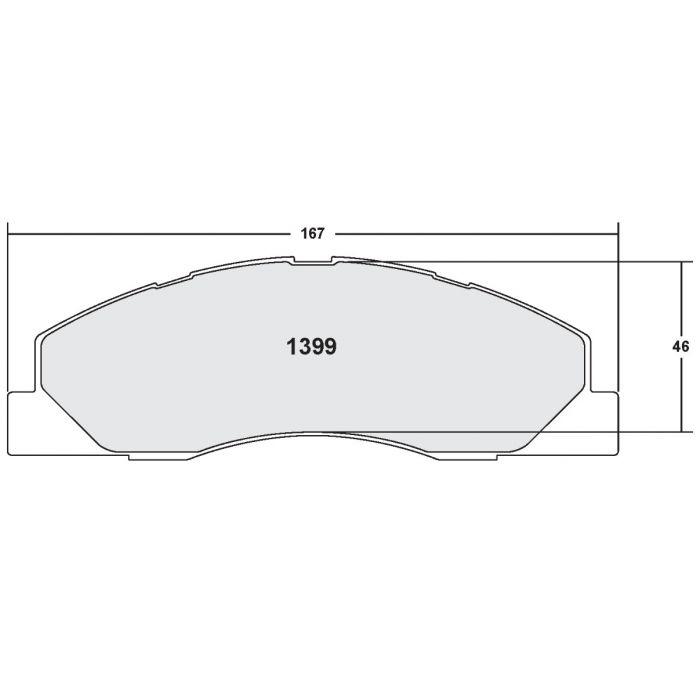 Performance Friction 0149.20 Carbon Metallic Brake Pads