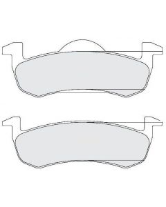 [1279.20]Performance Friction Carbon Metallic brake pads.FMSI(D1279)