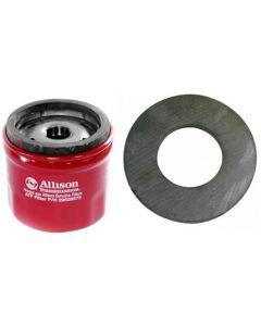 [29539579--29535617] Chevy/GMC 6.6 Liter Allison Diesel Transmission Filter and magnet.