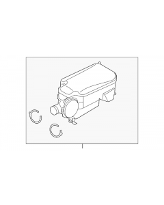 [FC3Z-6A785-C]2011-12 Ford F250-F550 6.7L diesel separator/crankcase vent valve