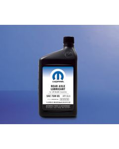 [68210057AB]OEM Mopar SAE 75w-85 Synthetic Axle Lubricant 68210057AB Quart