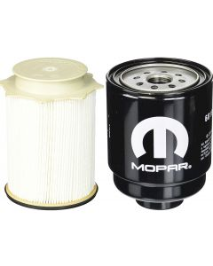 [68197867AB-FS53000]Mopar & Fleetguard fuel filter Kit(Contains both fuel fitlers)-2013-up Dodge HD truck with 6.7 liter diesel