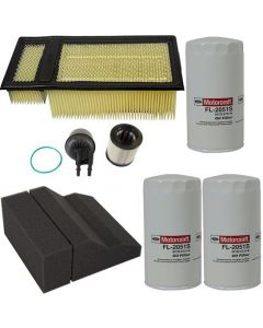 [fd-4615/FA1902/FL2051S(x3)/FA1909]2011-2016 Ford 6.7 liter Powerstroke turbo diesel Motorcraft fuel/water ,air,pre air and oil filter.