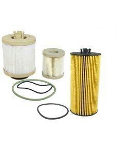 [FD4616/FL2016]2003-2007 Ford F250-F500 6.0 liter Powerstroke diesel fuel/water & oil filter combo.