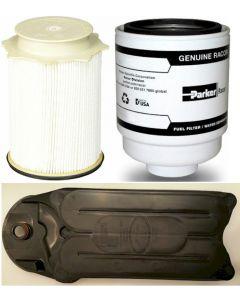 [PFF54529-FS53000-CV52001]Racor/Fleetguard fuel filter Kit(Contains both fuel fitlers)-Fleetguard CCV filter-2013-up Dodge HD truck with 6.7 liter diesel
