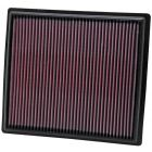[33-2442]K&N Replacement Air Filter BUICK LACROSSE L4-2.4/V6-3.6L F/I, 2010-2016