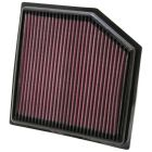 [33-2452]K&N Replacement Air Filter LEXUS GS460 V8-4.6L F/I, 2008-2011
