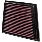 [33-2955]K&N Replacement Air Filter FORD FIESTA L4-1.25L F/I, 2008-2017
