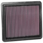 [33-3103]K&N Replacement Air Filter GEELY BO YUE L4-1.8L F/I; 2016-2018