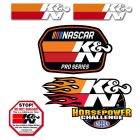 [89-0200]K&N Decal/Sticker Pack DECAL; PROMOTIONAL PACK