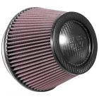 "[RP-2960]K&N Universal Air Filter - Carbon Fiber Top 6""FLG, 7-1/2""B, 5-1/8""T, 5""H"