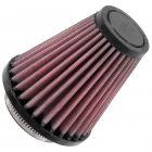 "[RU-1200]K&N Universal Clamp-On Air Filter 2-1/16""FLG, 3-1/2""B, 2""T, 4""H"