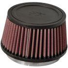 "[RU-3110]K&N Universal Clamp-On Air Filter 4-1/2""FLG, 5-7/8""B, 5""T, 3-1/4""H"