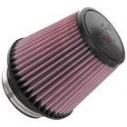 "[RU-5060]K&N Universal Clamp-On Air Filter 4""FLG, 6-1/2""B, 4-1/2""T, 6""H"